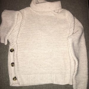 fc439b498d0 Madewell Sweaters - MADEWELL Side-Button Turtleneck Sweater